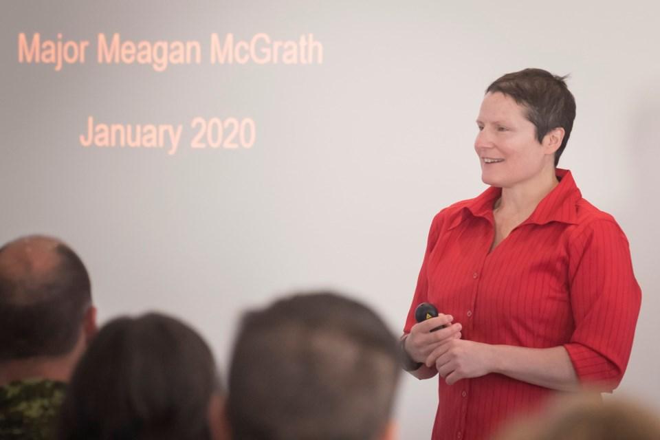 Maj. Meagan McGrath
