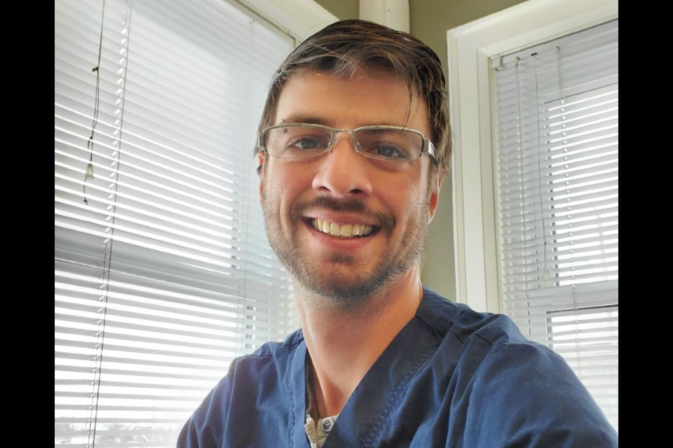 Francis McLean, Vet Technician, Owner and Founder of North Bay Vet Tech Services.