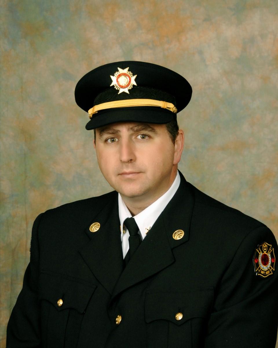 Whiteley, Jason fire chief 2016