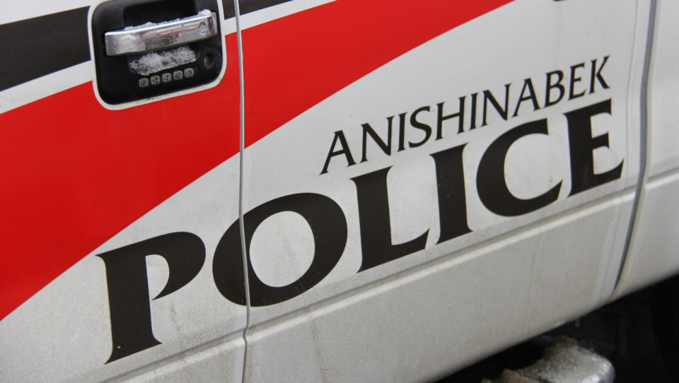 20180525 Anishinabek police car door turl