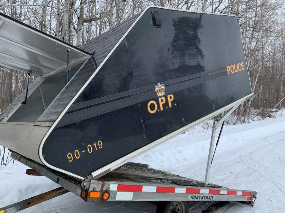 20200202 snowmobile trailer OPP turl
