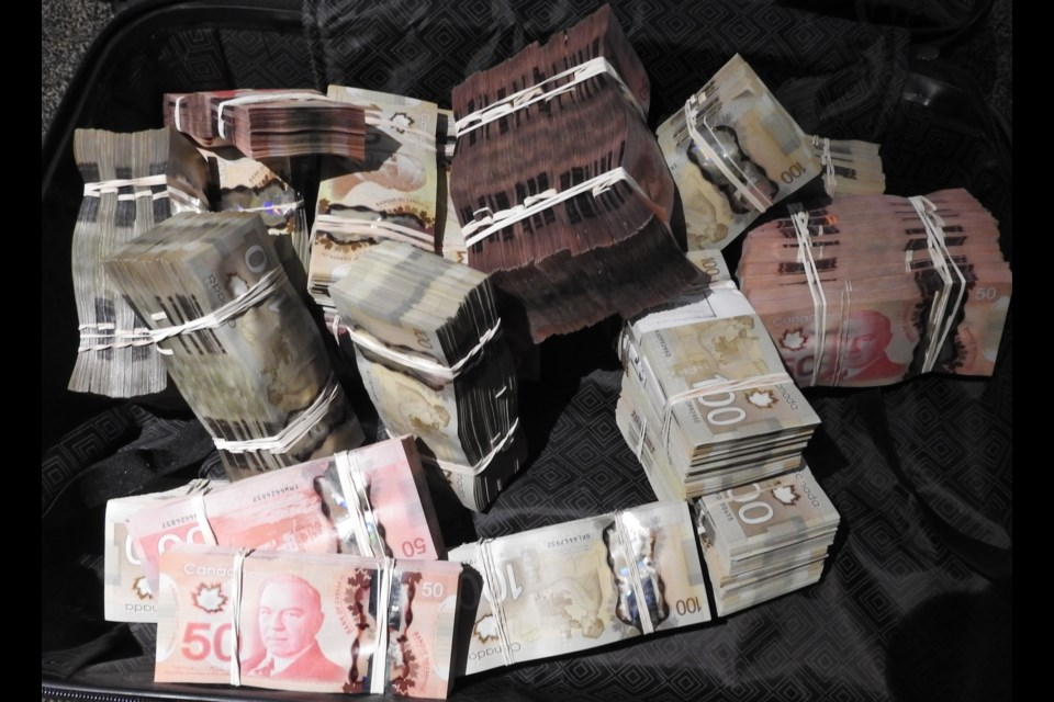 $700,000 in cash was seized