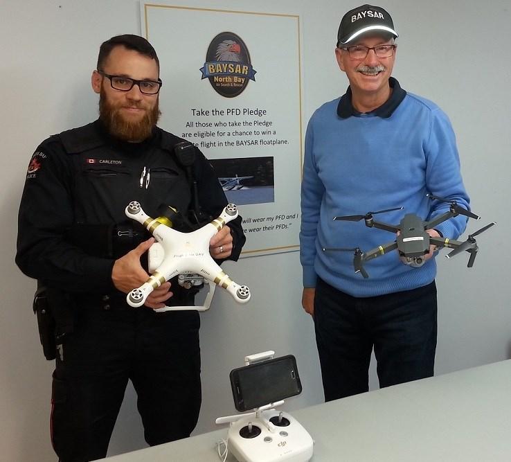 BAYSAR police drones