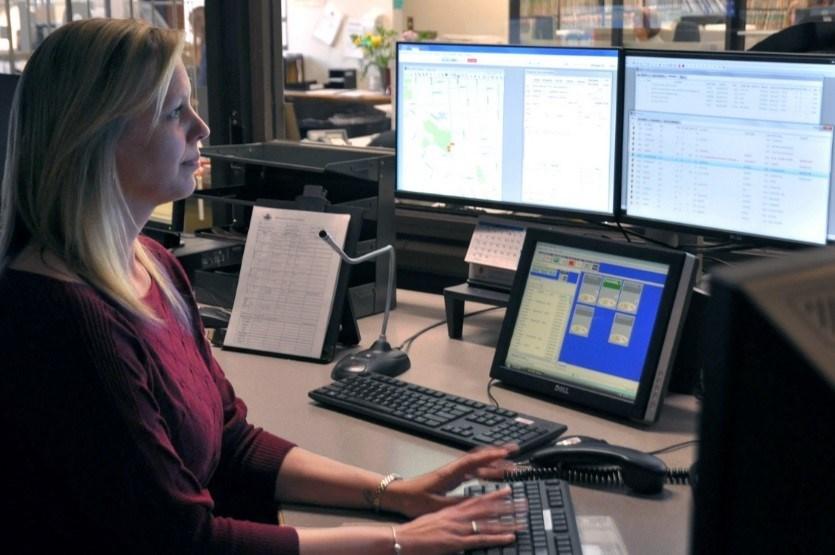 Kelsie Dufresne, police dispatcher 2016