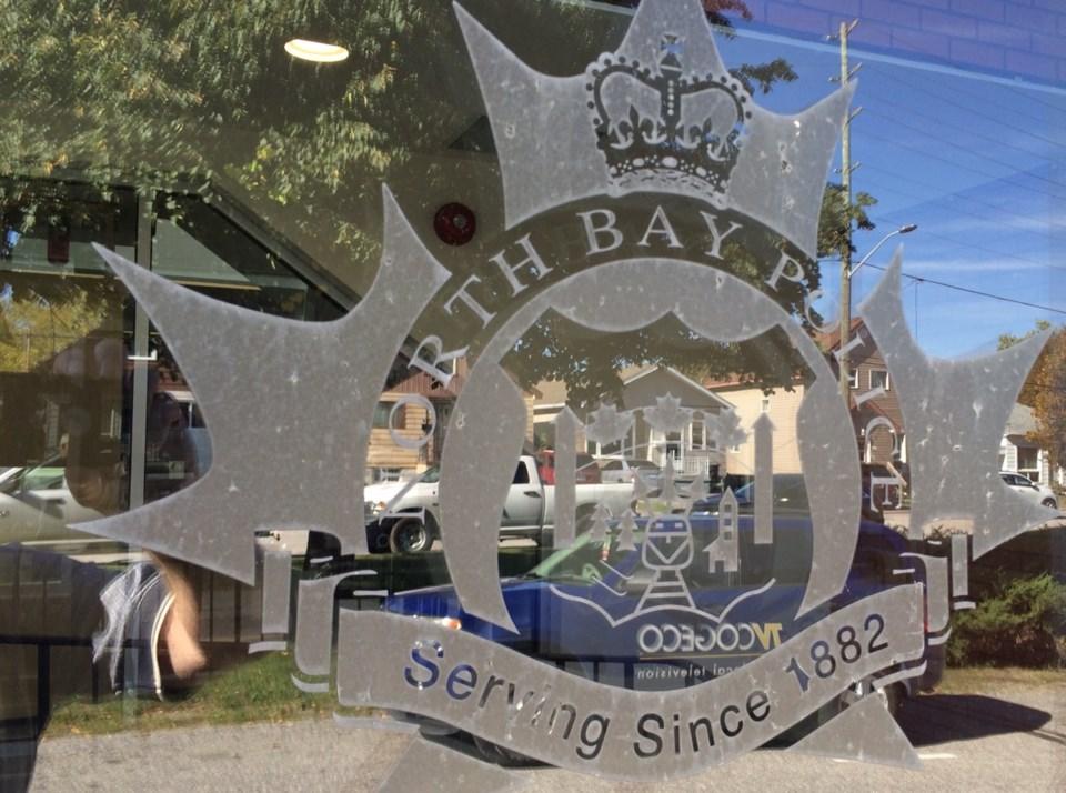 north bay police logo on hq door turl 2016