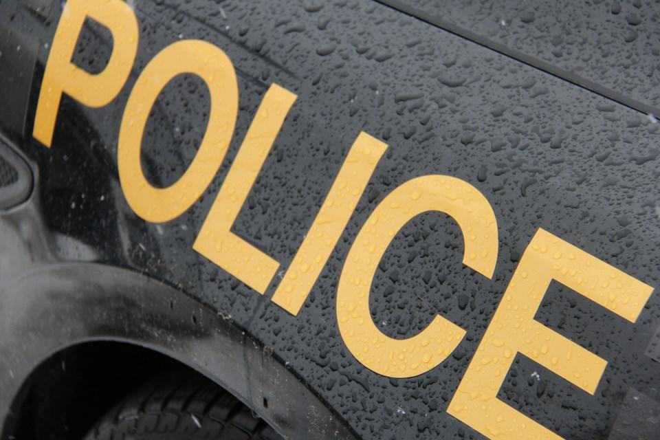 OPP Police on car turl 2016