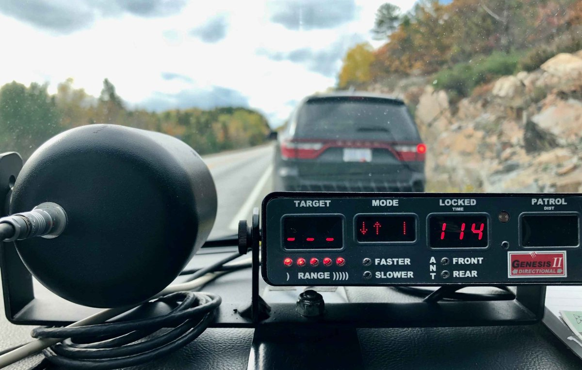 Driver caught going over 175 km/h on Thunder Bay Expressway