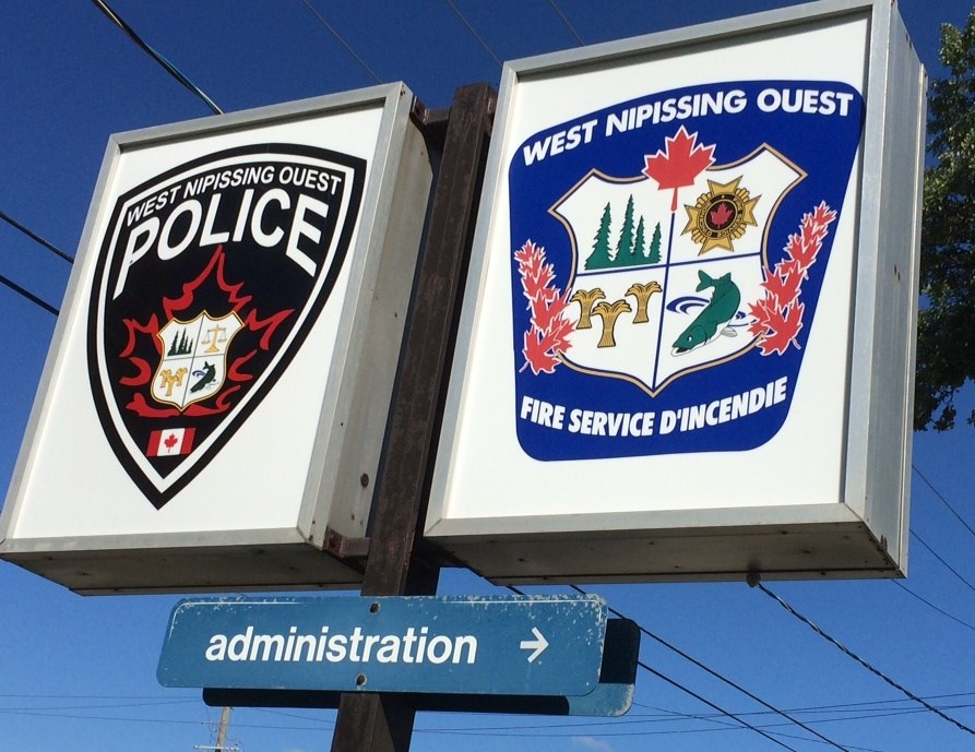 west nipissing police fire sign turl 2015
