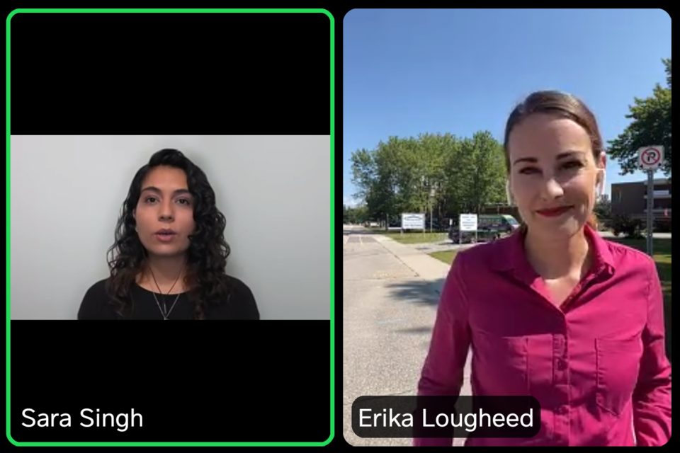 2021 07 23 Erika Lougheed - Sara Singh (Zoom)