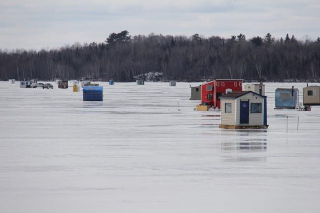 ice huts callander bay turl