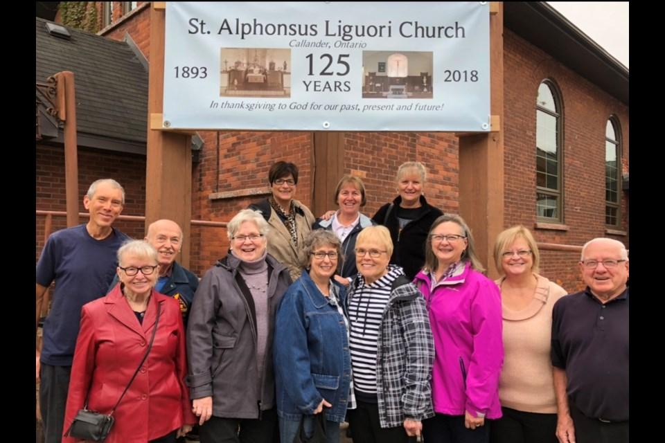 Parishioners of St. Alphonsus Liguori anticipating the celebrations of the 125th Anniversary. Supplied.