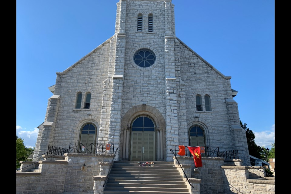 Pro Cathedral of the Assumption.  Photo by Chris Dawson/BayToday.