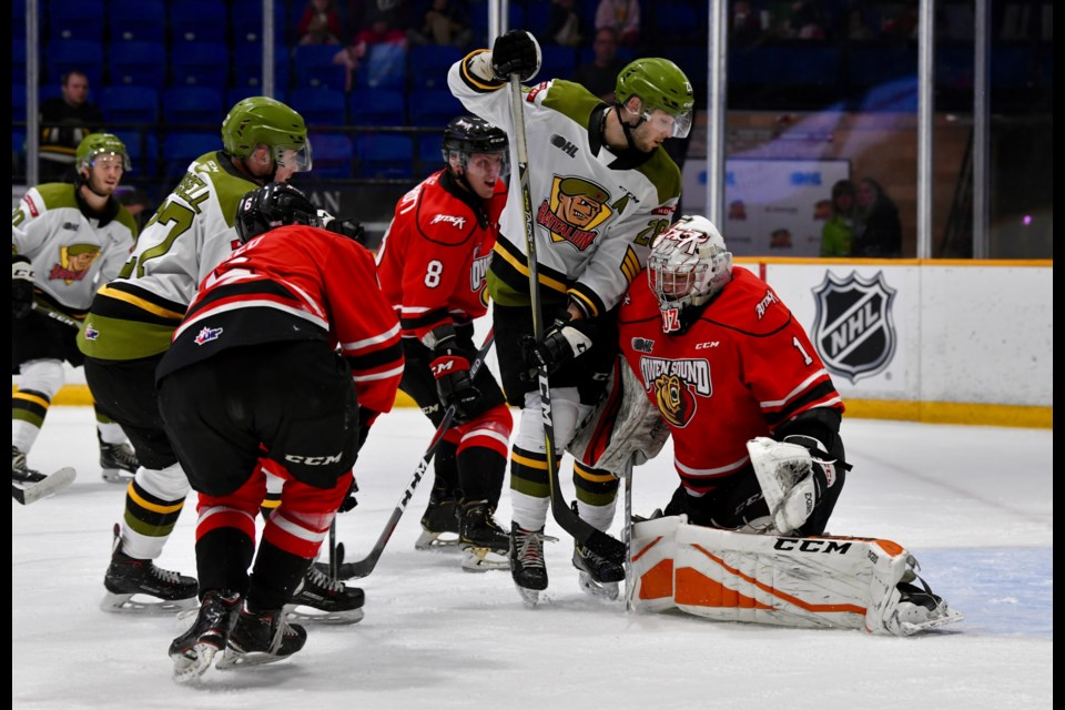 Battalion got their chances despite the final score.  Photo by Tom Martineau/BayToday.