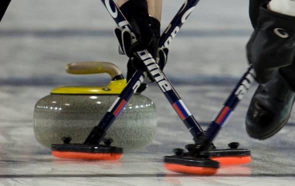 Curling stock
