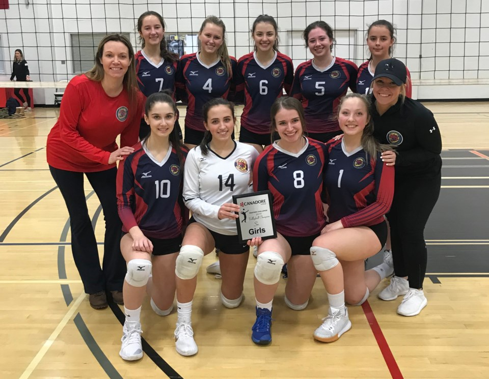 20191129 canadore wildcats tourney win