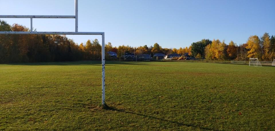 2020 10 11 Field West Ferris Football Soccer