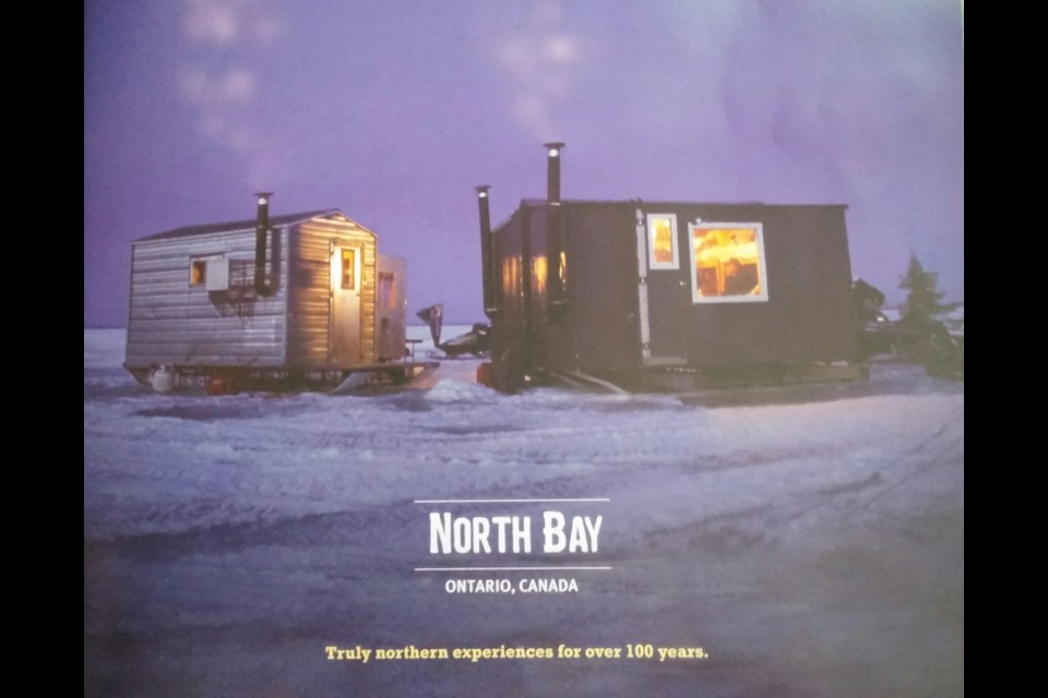 Cover of the visitors' guide for North  Bay. Photo by Stu Campaigne.