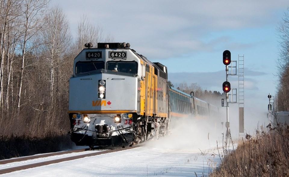 20210202 via rail RSF VIA35 at Carlsbad Springs Ray Farand