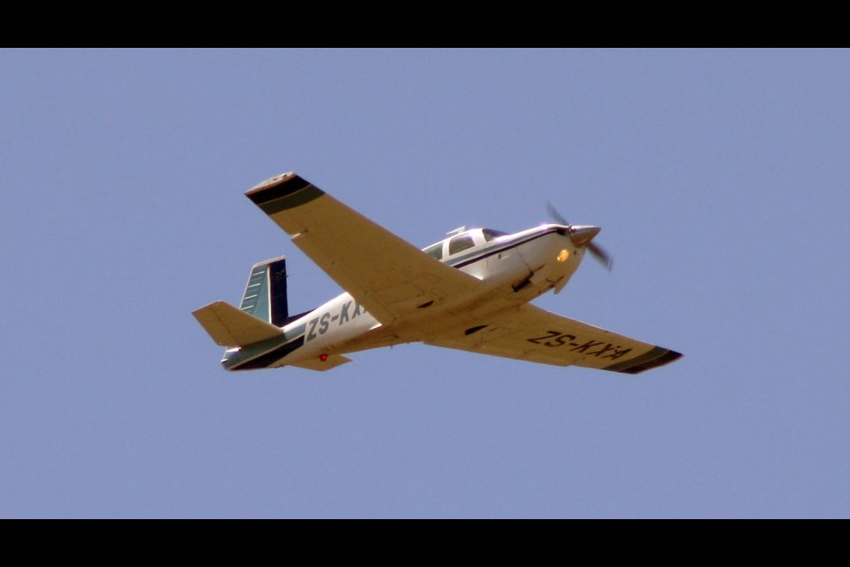 A Mooney M20J, similar to the plane that crashed Thursday in South River.
