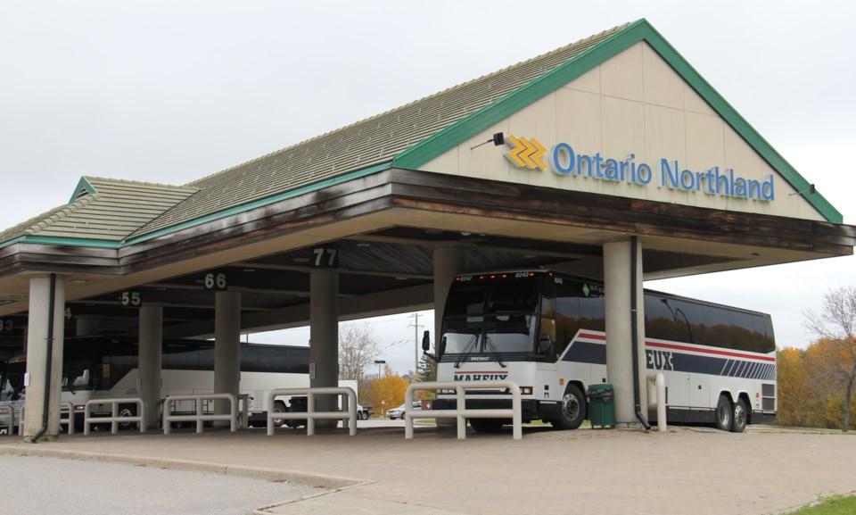 ontario northland bus station