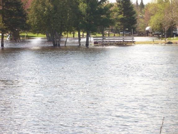 2017 Flooding Mattawa Turcotte Park turl