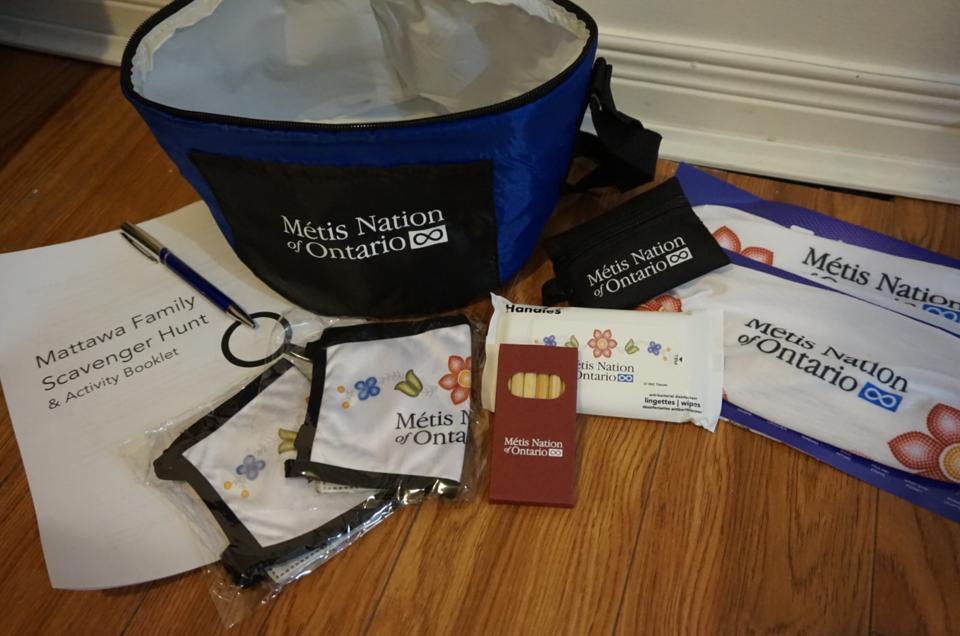 Metis Nation Scavenger hunt package Mattawa~ July 15 21 ~ Photo Supplied