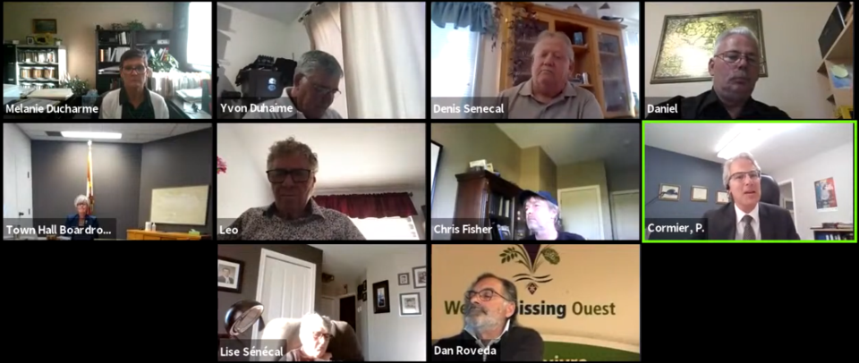 West Nipissing Council w Integrity Commish~Zoom~June 15 2021