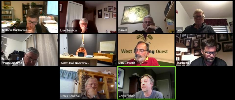 West Nipissing Council~June 22 2021~sanctions