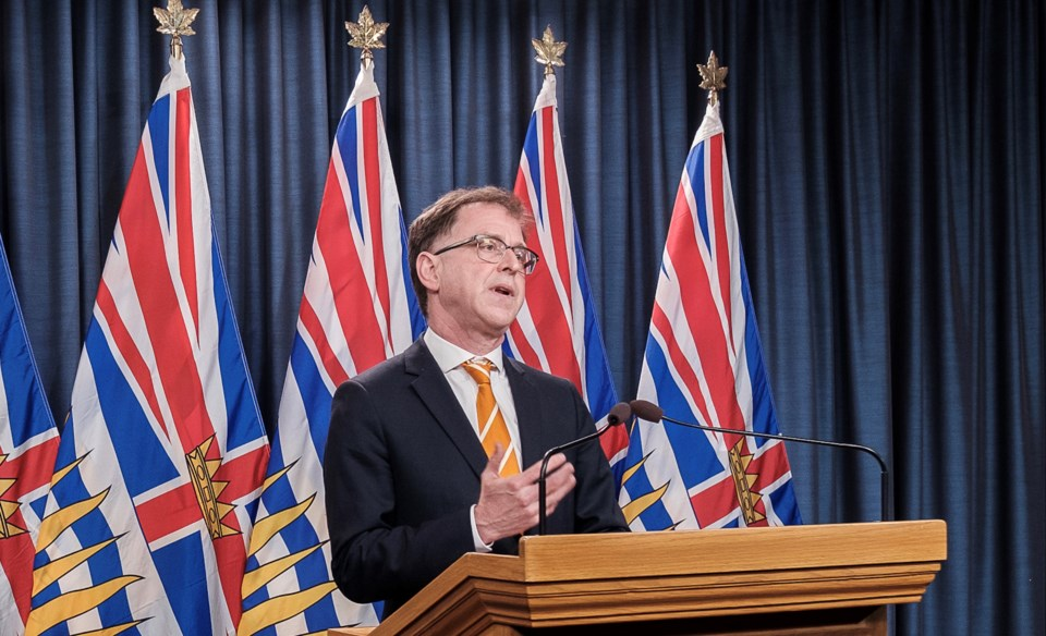 Active COVID-19 cases in BC drops to 2100