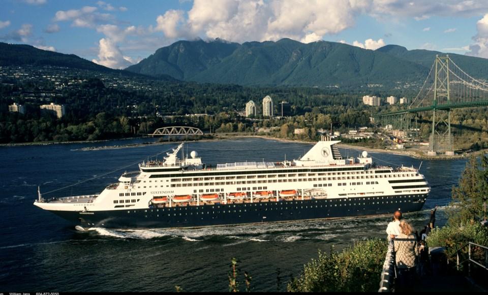 Cruise ship - port metro vancouver