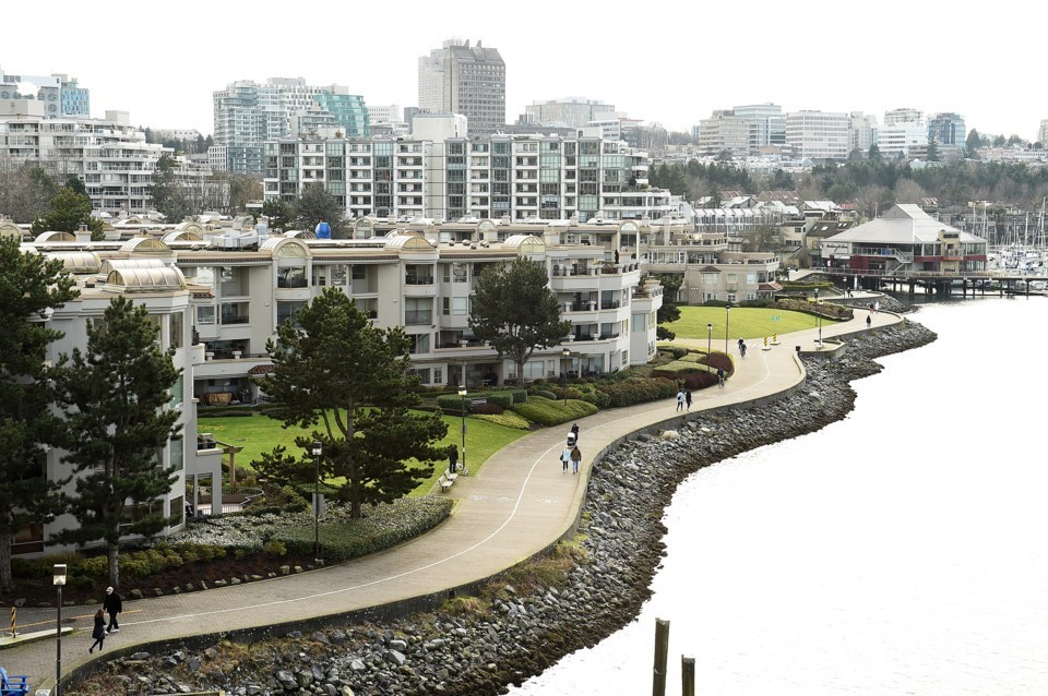 """The city released a """"conceptual development plan"""" for the 80 acres of land it owns and manages on the south shore of False Creek"""