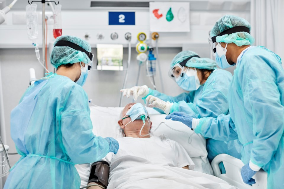 Hospital patient - gettyImages 1277102896