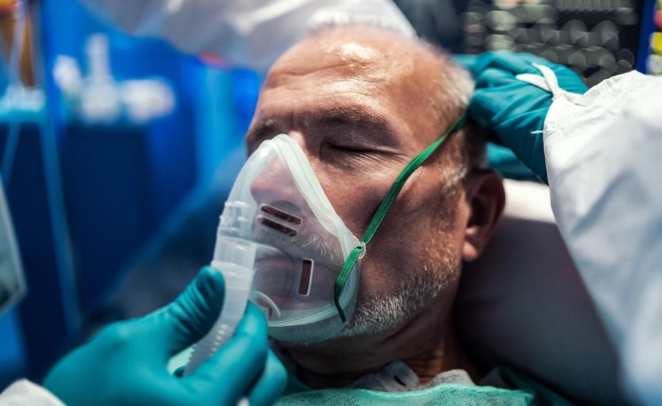 Hospital patient ventilator - getty