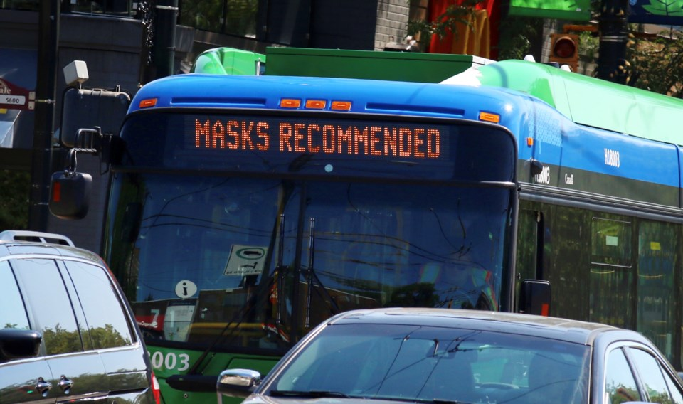 Masks recommended bus - rk