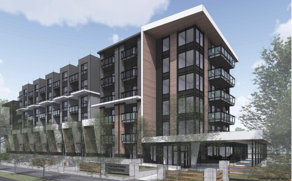 Peninsula Housing rendering