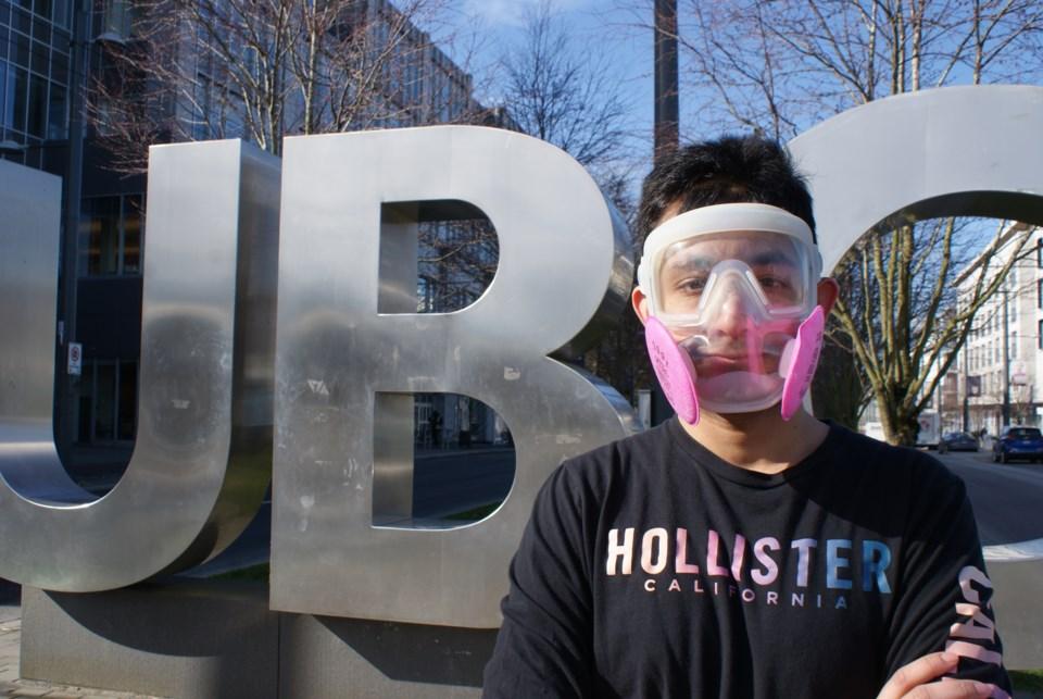 UBC mask