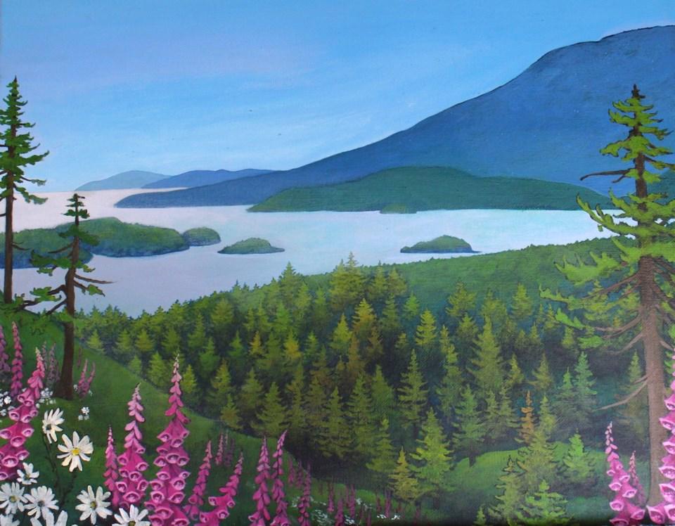 Landscape by Katie Mainwaring