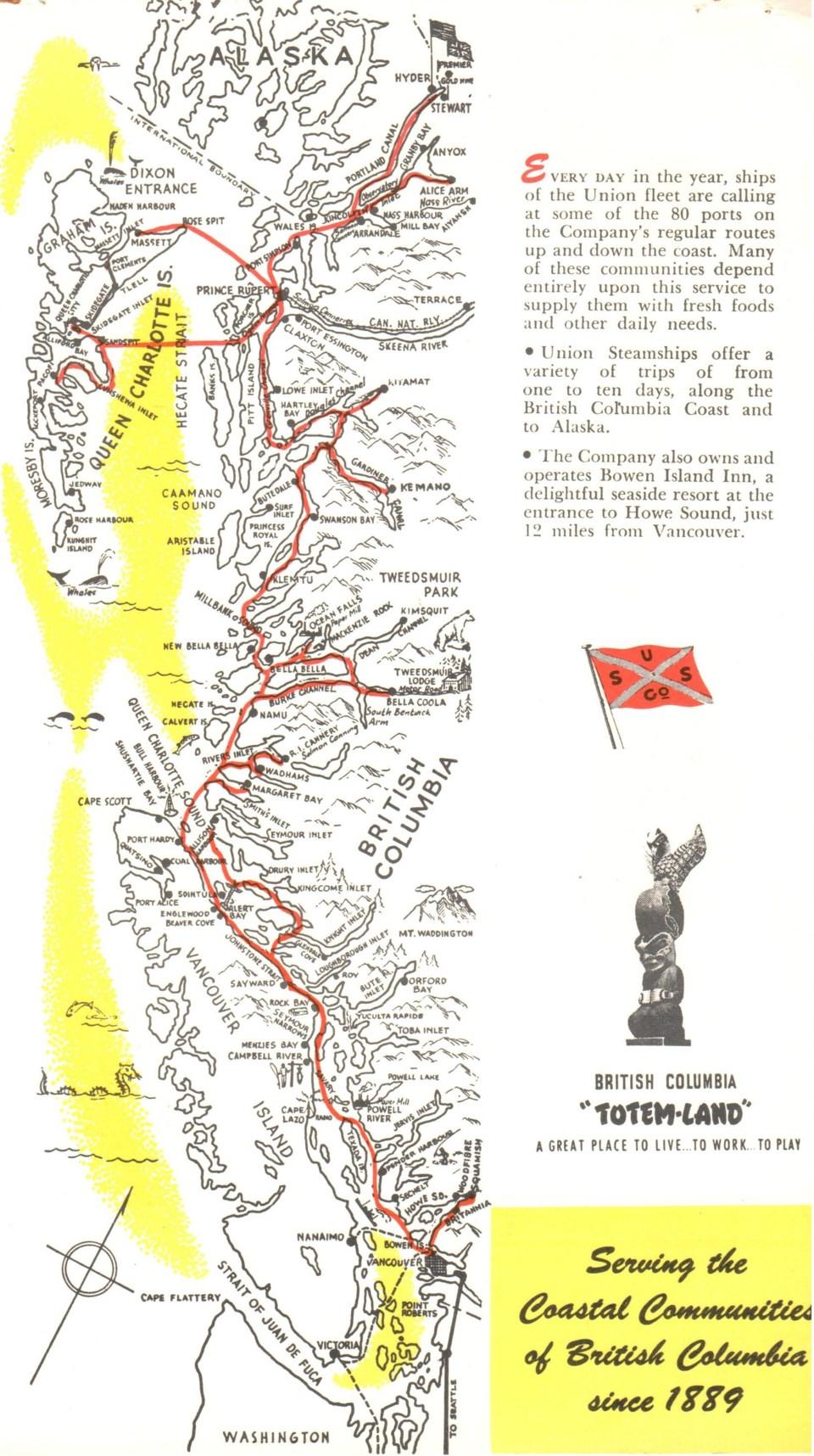 map of coast