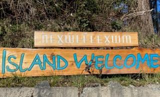 Nexwlélexwm sign in Snug Cove