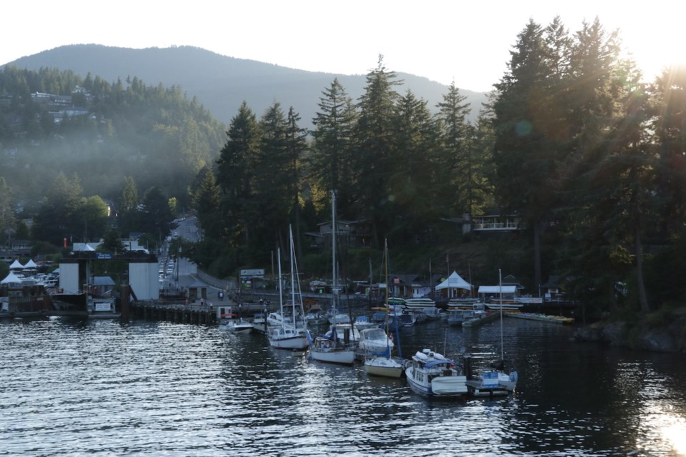 Snug Cove harbour view from ferry