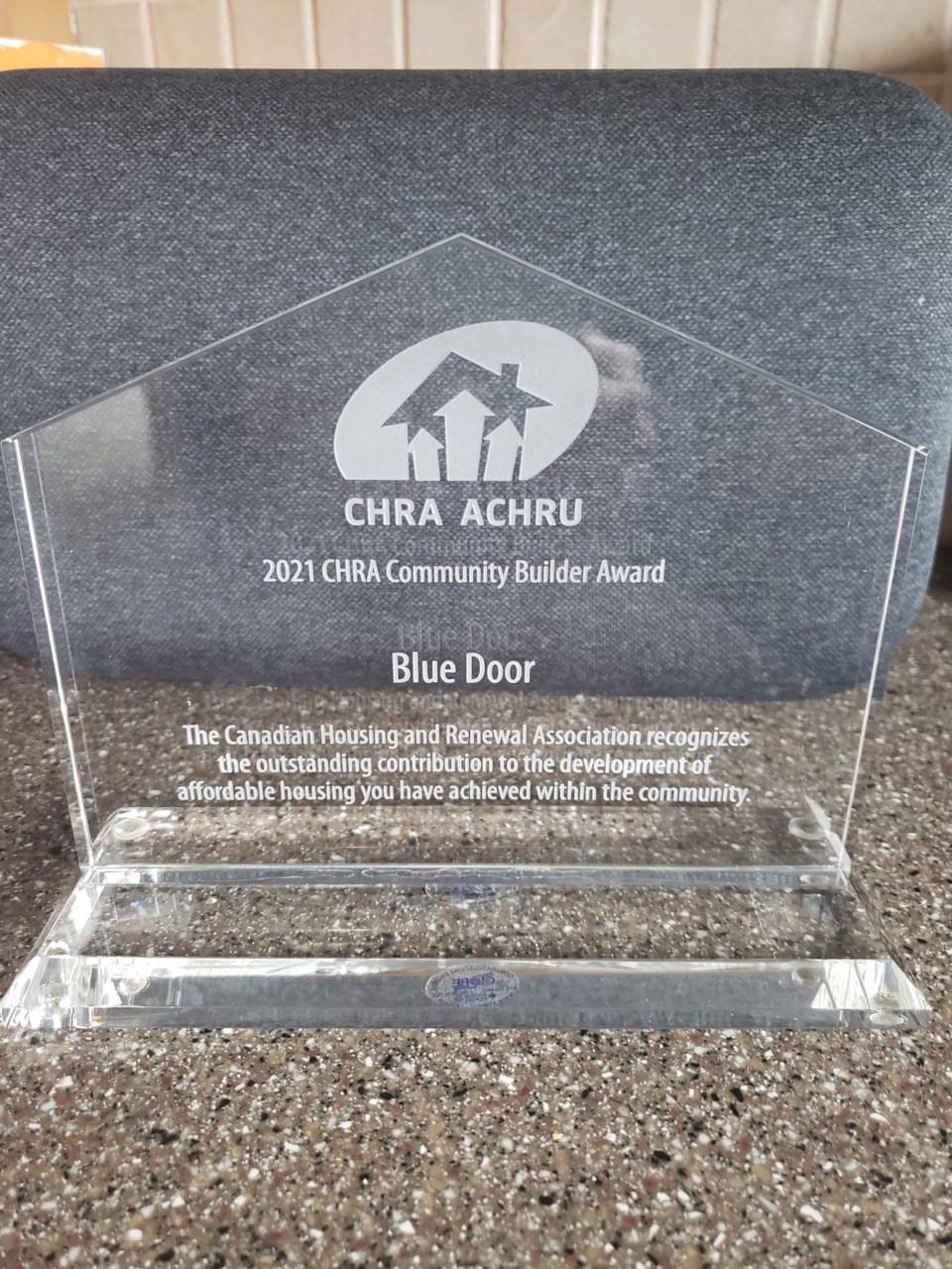 2021-05-06 - CHRA Award