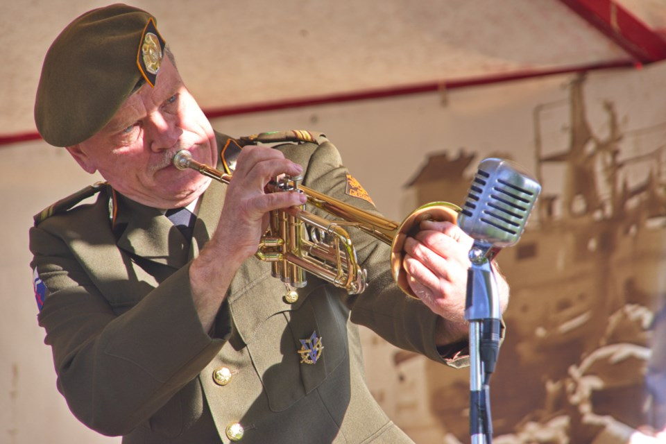 The Sgt. Wilson's Army Show is returning to Bradford on Nov. 1 - as the Sgt. Wilson's Airforce Show. SUBMITTED