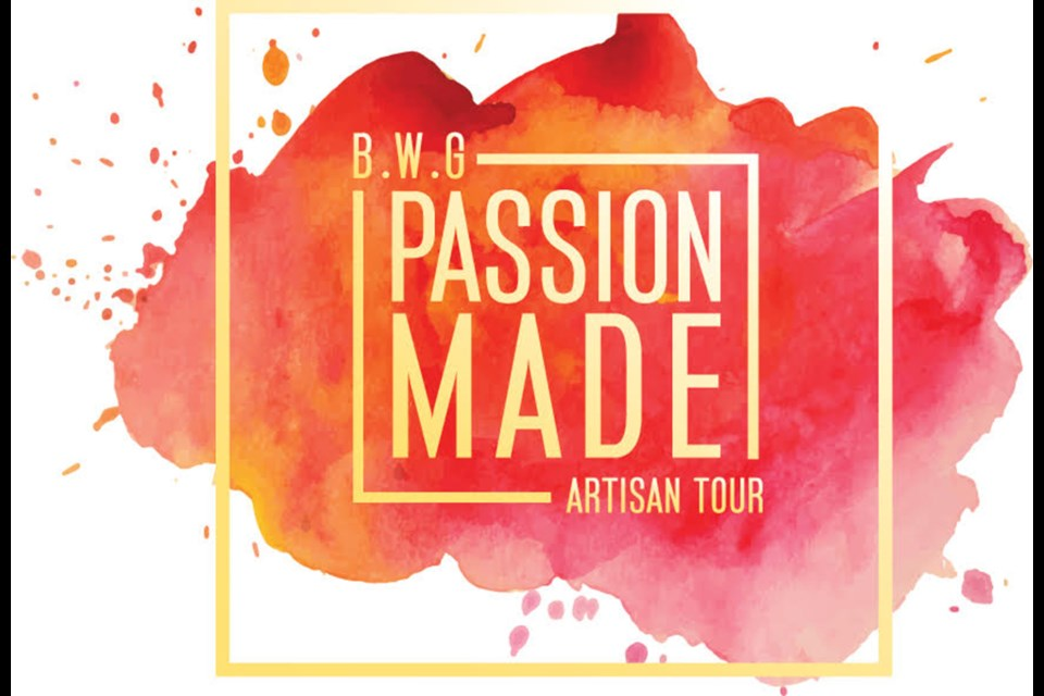 New logo of the BWG Artisans' Tour - reflecting the passion of art, and thinking outside of the box. Submitted image