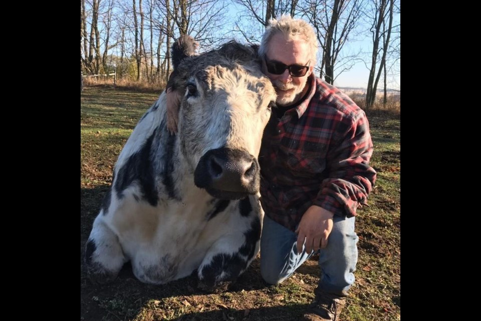 Marc Daoust - Facility Manager at the Wishing Well Sanctuary where he started originally as a volunteer.