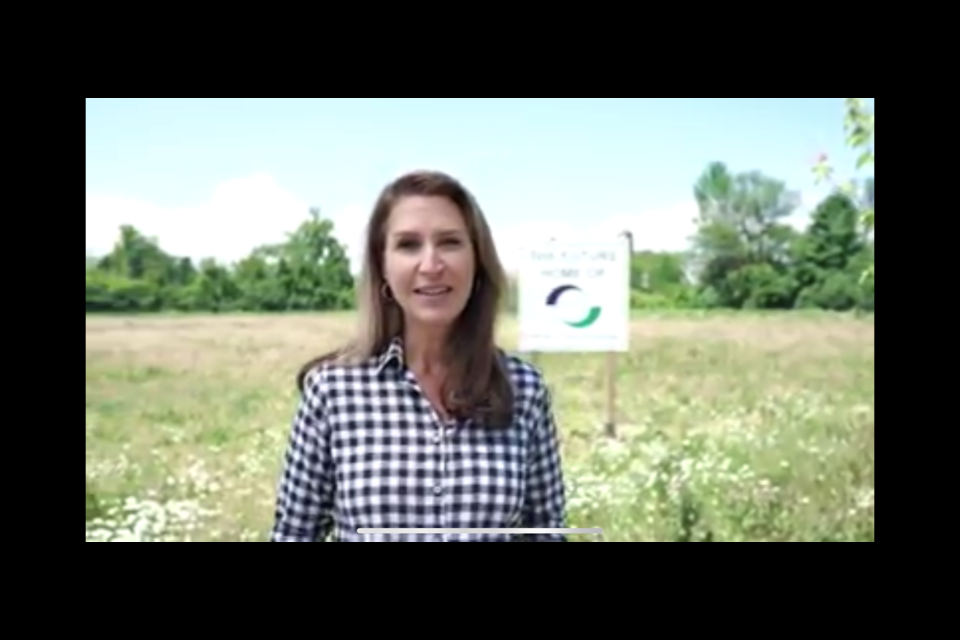 Caroline Mulroney was pleased to announce the new project in Georgina over Facebook on Friday.