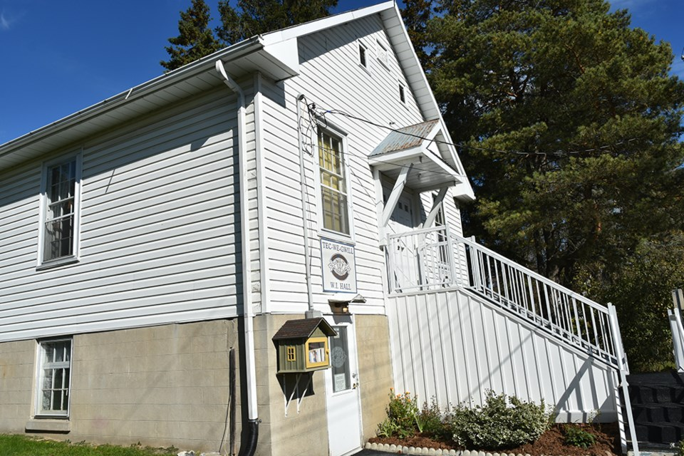 The Tec-We-Gwill Women's Institute Hall in Newton Robinson, also known as the Newton Robinson Hall. The building is handicapped accessible. Miriam King/Bradford Today