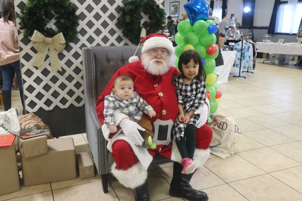 Visits with Santa! Natasha Philpott/BradfordToday