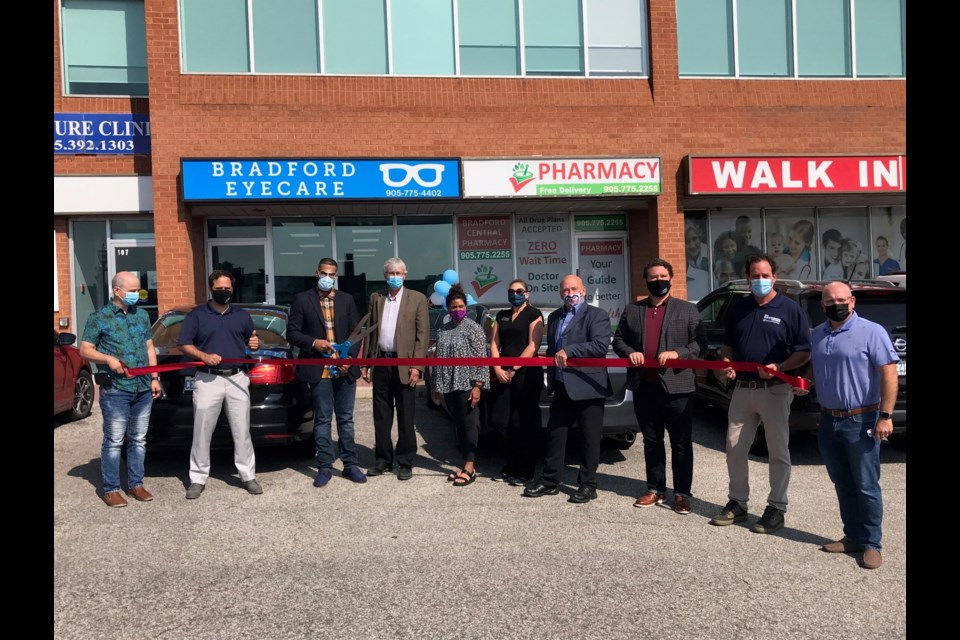Bradford EyeCare - Grand Opening, Ribbon Cutting  Located at 107 Holland St. East