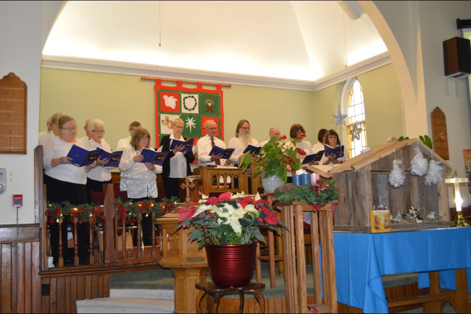 (Pictured: Previous 'Innispirit' concert held at the United church). This year's 'Innispirit' concert is being held virtually on May 16 at 2pm and will feature local performers singing Kenny Rogers songs as a tribute.