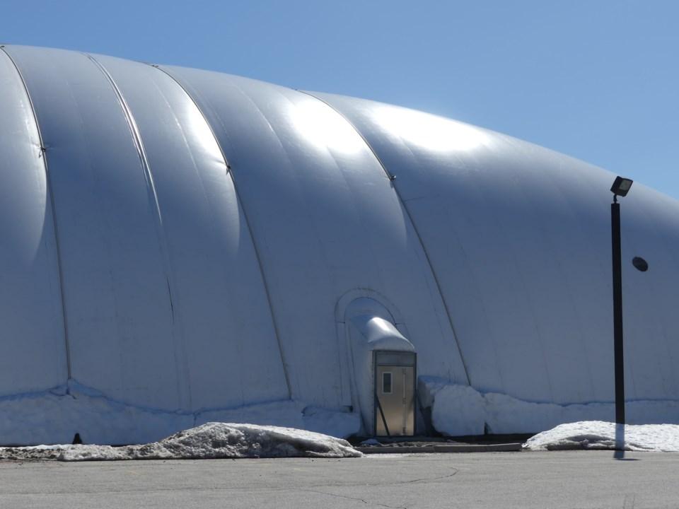Sports Dome snow